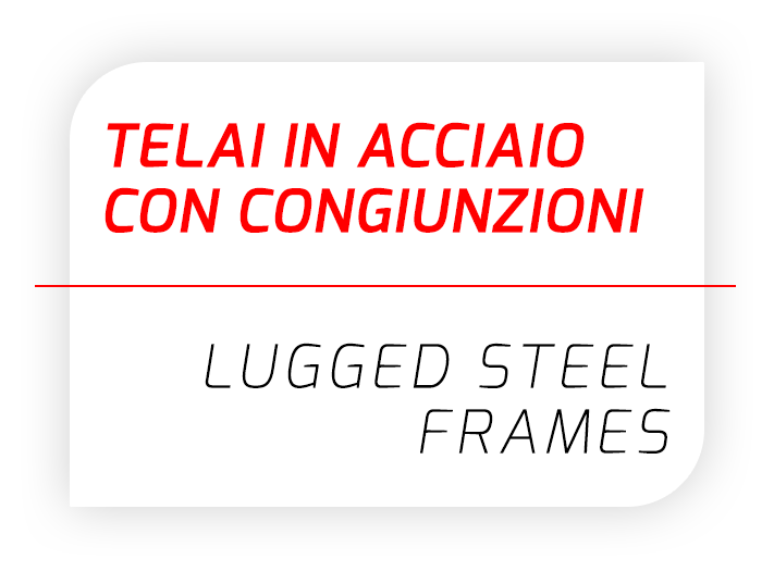 Lugged steel frames